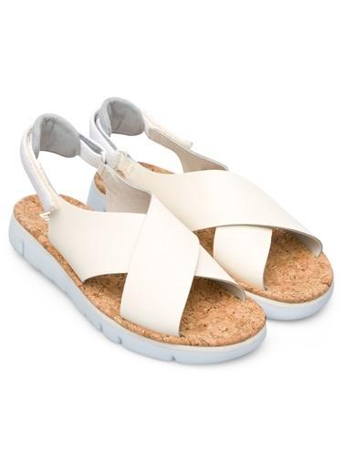 Camper Oruga Sandal Sandalet Bej